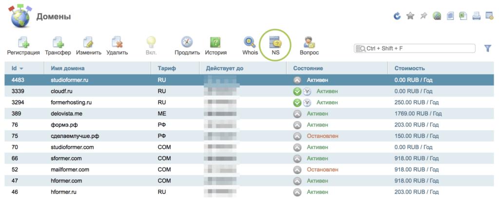 Настройка DNS-хостинга 11